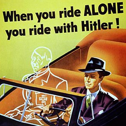 Old commercial - When you ride alone you ride with Hitler