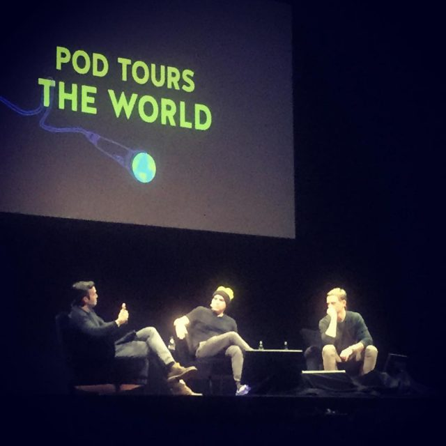 Politics fun and games with the people of podsaveamerica podtourstheworld